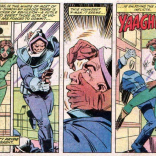 To be fair, she's both body-swapped with Baron Karza AND mind-controlled by Evil Professor Xavier. (The X-Men and the Micronauts #3)