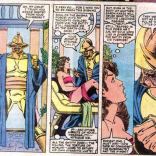 The worst part is that he gets so much creepier. (The X-Men and the Micronauts #3)