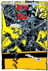It's theoretically possible to imagine Warlock designed by an artist other than Bill Sienkiewicz, but why would you ever want to? (New Mutants #21)