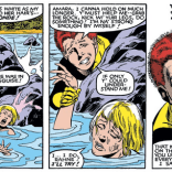 """""""Not only did I spill my soul to you thinking you didn't speak English, but it turned out your outfit was also really fucking racist. THANKS, AMARA."""" (New Mutants #8)"""