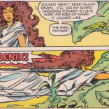How Gar manages to get an image that specific from her description remains a mystery. (The Uncanny X-Men and the New Teen Titans)