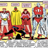 But.. isn't that basically what Vision normally wears? (Uncanny X-Men #190)