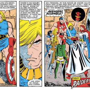 CAPTAIN AMERICA WE LOVE YOU (Uncanny X-Men #190)
