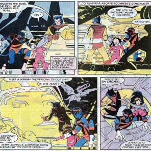 Can we talk about Nightcrawler's amazing disco pirate outfit? (