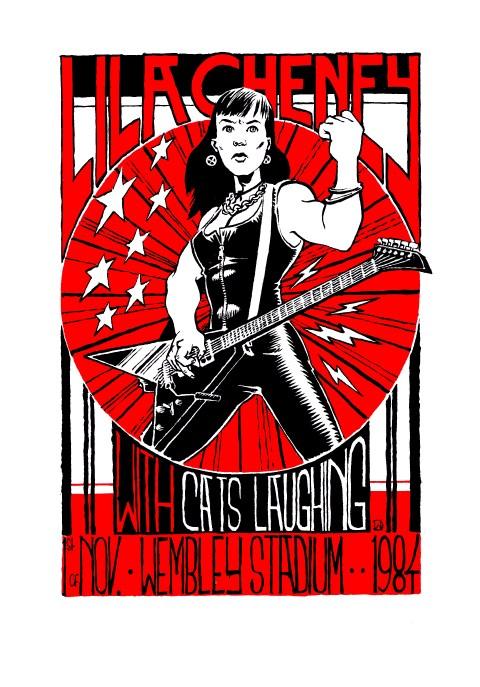Lila Cheney Wembley 84