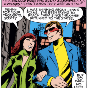 Cyclops: the worst at dates, or definitely the worst at dates? (Uncanny X-Men #123)