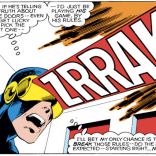 The sound effect in the blast, tho. (Uncanny X-Men #123)