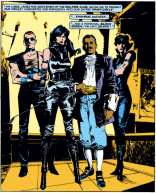 """On Wednesdays, we dress glam."" (New Mutants #23)"
