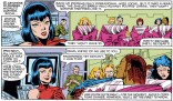 More festive pudding-cup hostages! Why? Why not? (Uncanny X-Men #146)