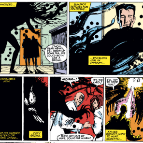 WELL, THAT CAN'T BE GOOD. (New Mutants #23)