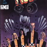 That is... an awfully Demon Bear-looking Sunspot on that cover. Not that we're complaining, mind. (New Mutants #24)
