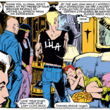 Like Rogue, we are firmly on Sam's team on this one. (New Mutants #24)
