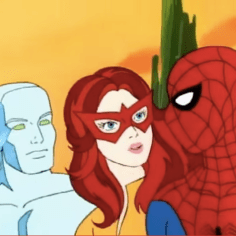 Spider-Man and His Amazing Friends (but not in that order).