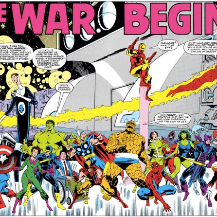 Heroes! (Secret Wars #1)
