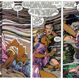 Hallucinatory Forge. Check out those background textures, too. (Uncanny X-Men #198)
