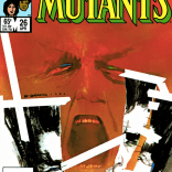 Legion has consistently inspired some of the best covers in Marvel's lineup. (New Mutants #26)