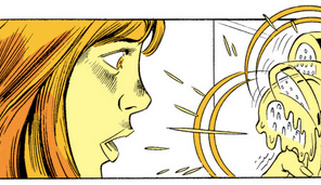 I'm pretty sure there's a Talking Heads music video that starts exactly like this. (Firestar #1)