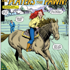 This horse's name is Butter Rum. Don't get too attached. (Firestar #2)