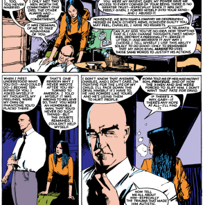 In which Charles Xavier owns some fairly heinous shit. (New Mutants #26)