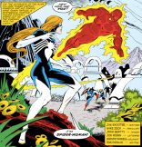"""""""Ohhhhh, the OTHER Spider-Woman."""" (Secret Wars #7)"""