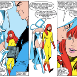 """What? This? Oh, no, I build killer robots of ALL my friends."" (Firestar #3)"