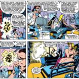 "Stewart ""Unflattering Caricature of Steve Gerber"" Cadwall. (Secret Wars II #1)"