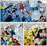 Remember that time a bunch of heroes saved the universe by murdering a baby? (Secret Wars II #9)