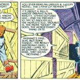 """Is this foreshadowing?"" ""Nah. Just a book recommendation."" ""Because it really sounds like foreshadowing, Sam."" ""Former X-Man, huh?"" (X-Men/Alpha Flight vol. 1, #1)"