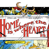 Check out the gorgeous John R. Neill homage going on in that title card. (New Mutants Special Edition #1)