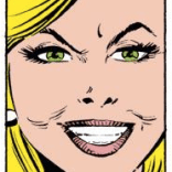It is super weird how much Val Cooper looks like Tiffani-Amber Thiessen, given that Thiessen would have been eleven years old when this comic came out. Photo-reference of future past? (Uncanny X-Men #199)