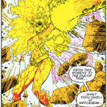 Fire-elf Magma. (New Mutants Special Edition #1)
