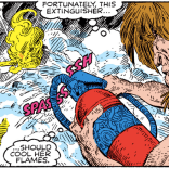 Throughout the nine realms, skalds sing of the masterwork fire extinguishers of Nidavellir. (New Mutants Special Edition #1)