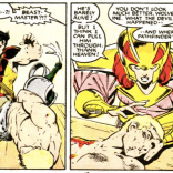 COLD, Wolverine. (X-Men/Alpha Flight vol. 1, #2)
