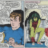 Meanwhile, in more recognizable corners of the Marvel Universe... (Longshot #4)