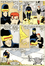 This is about as close as the Summers family ever seems to come to healthy communication, so enjoy it while it lasts. (X-Men/Alpha Flight vol. 1, #2)