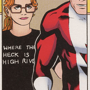 Alberta, in case you were wondering--just a little south of Calgary. (X-Men/Alpha Flight vol. 2, #2)