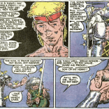 """I want to see a """"What If"""" splinter story where Sam is an epic hero and also basically Carrot from Discworld. I mean, there kind of is one--""""What if the New Mutants Had Stayed in Asgard""""--but still. MORE. (X-Men Annual #9)"""