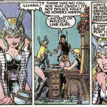 DANI LITERALLY NO ONE IN THIS ROOM HAS PHYSICAL POWERS. (X-Men Annual #9)