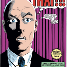 Professor Xavier reacts to the Xorn retcons. (Uncanny X-Men #196)