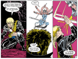 Saddest three panels in the series. Seriously. Stop and think for a moment about what's happening here, and what Longshot doesn't know. (Longshot #6)