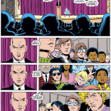 Someone really needs to make a gif out of those three panels on the left. (Uncanny X-Men #196)