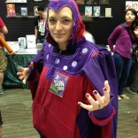 Same Magneto, different day (and still sporting the Valid Points pin!).