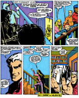 Magneto is the cool teacher. (New Mutants #35)