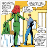 """""""It's almost like some outside force is manipulating our lives, making sure to stretch this dramatic tension as long as possible."""" (X-Factor #1)"""