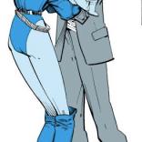 Let's pause for a moment to admire Rachel's super sharp outfit. Those yellow shoes! (Uncanny X-Men #201)