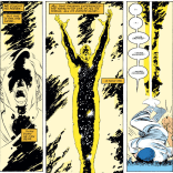 And then the Beyonder went away and everyone lived happily ever... HA NO JUST KIDDING. (Uncanny X-Men #203)