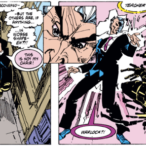 Warlock, you delightful scamp! (New Mutants #38)