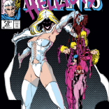 Another memorable cover. (New Mutants #39)