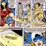 I wonder if James Hudson and Charles Xavier are friends. It seems like they would be. (Alpha Flight #34)