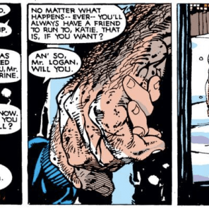 Awww. (Uncanny X-Men #205)